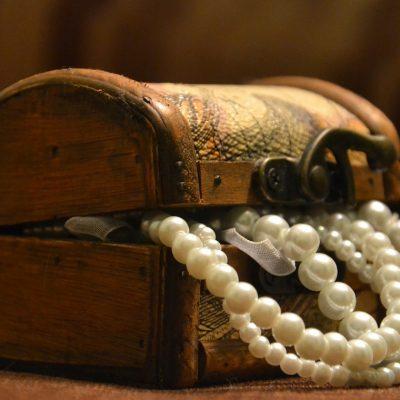 La boîte à bijoux est aussi décorative que pratique